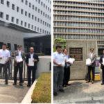 「仲間を返せ!」の署名を提出 6/19 大阪府警、大阪地裁に1140団体、2万3千筆